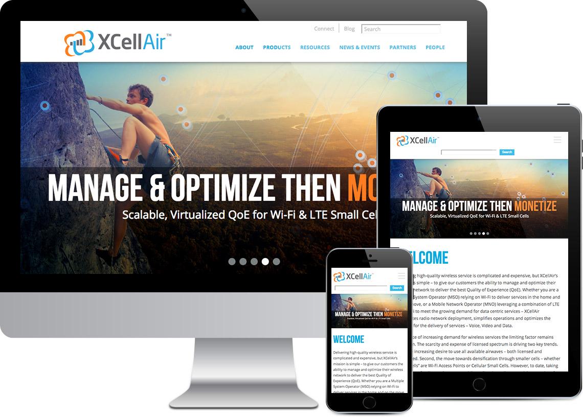 XCellAir Website