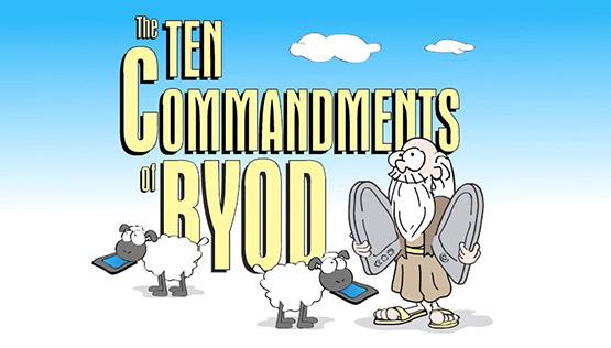 10 Commandments of BYOD
