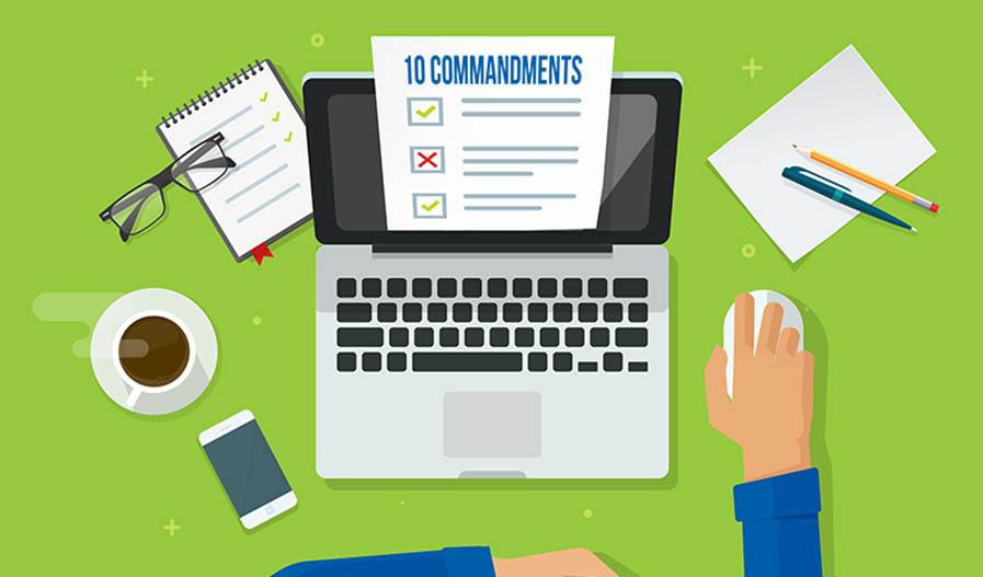 10 Commandments of WordPress Content Upload