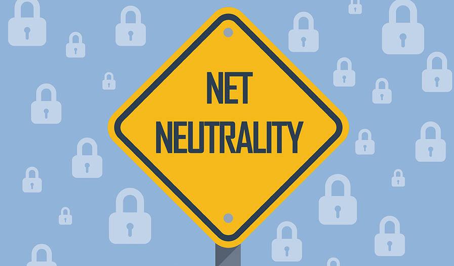net neutrality caution sign