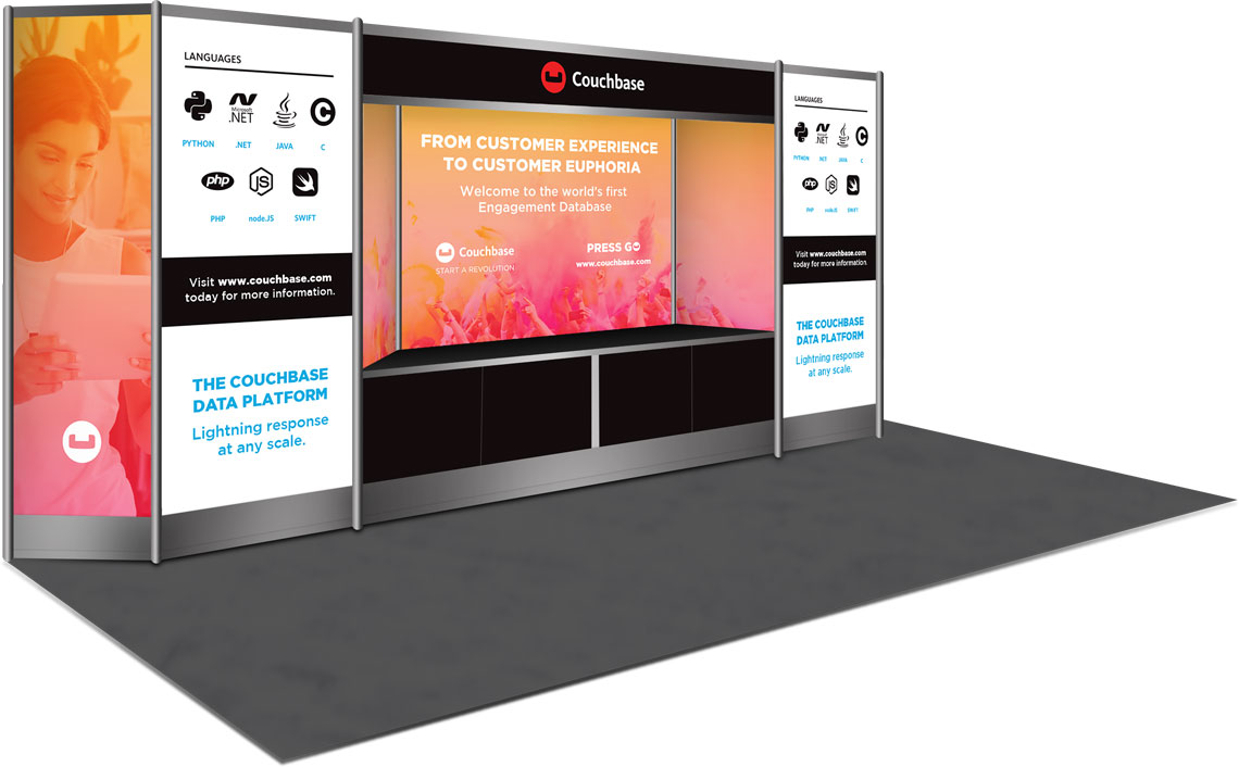Couchbase Booth Design