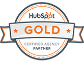 HubSpot GOLD Certified Agency Partner badge