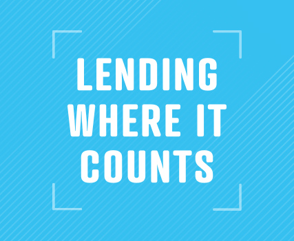 View the Lending Where it Counts Campaign project