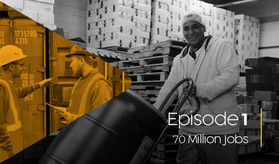 Scrappy Episode 1 - 70 Million Jobs