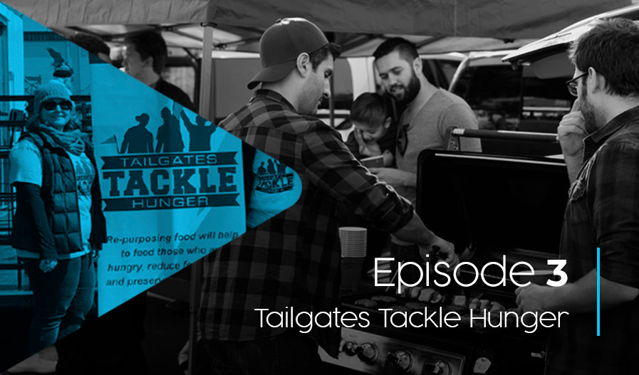 Scrappy Episode 3 - Tailgates Tackle Hunger
